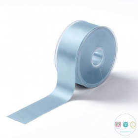 Baby Blue Satin Ribbon - 38mm - Trimming - Embellishments - Haberdashery