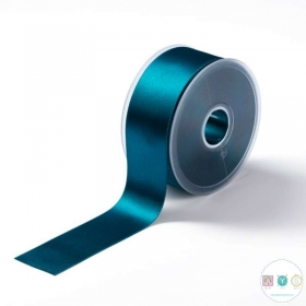 Turquoise Blue Satin Ribbon - 38mm - Trimming - Embellishments - Haberdashery