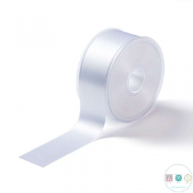 White Satin Ribbon - 38mm - Trimming - Embellishments - Haberdashery