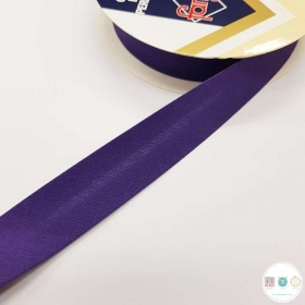 Purple Polycotton Bias - 25mm - Bias Tape - Binding - Trim - Haberdashery