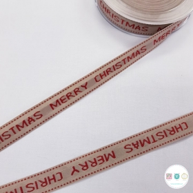 Merry Christmas Ribbon - Trim - Haberdashery