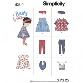 Simplicity 8304 - Baby Gear Patterns