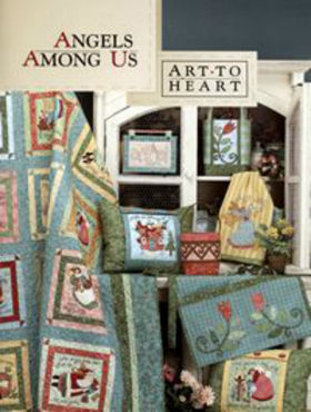 Angels Among Us - Art To Heart - Appliqué Pattern Book by Nancy Halvorsen