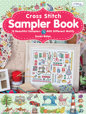 Cross Stitch Sampler Book by Susan Bates - Embroidery & Cross Stitch