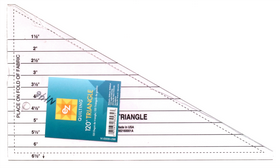 June Tailor 120 Degree Triangle Quilting Ruler