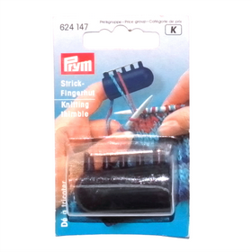 Prym Knitting Thimble with Yarn Guides - Knitting Accessory