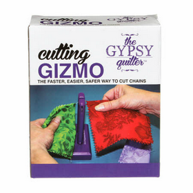 Gypsy Quilter - Cutting Gizmo - String Piecing - Chain Seperater - Cutting Tool - Gift
