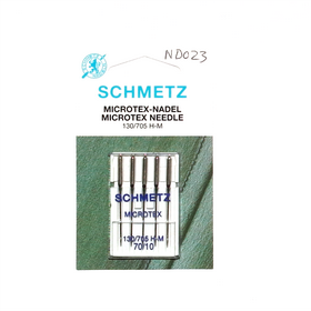 Schmetz Microtex Needle  70/10  130/705H
