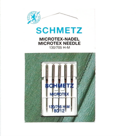 Schmetz Microtex Needle  80/12  130/705 H-M