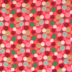 Windham Fabrics - Mouse Camp 2646 Red Floral