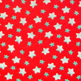 Red with Blue Stars 2501478