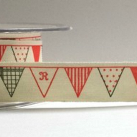 Bunting Cotton Ribbon. Price per yard.