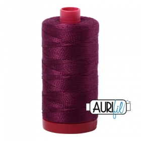 Aurifil Red Plum Purple Thread a1100 - Red Plum -12wt - Quilting Cotton Thread