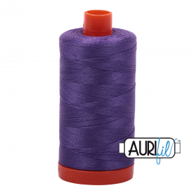 Aurifil Dusty Lavender Thread - 1243 - 12/2 - 12wt - Purple Quilting Cotton Thread