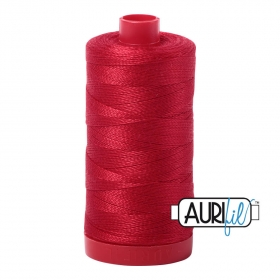 Aurifil Red Thread a2250 -12wt - 2250 - Quilting Cotton Thread