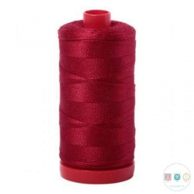 Aurifil Wine Red Thread a2260 - 12wt - Quilting Cotton Thread