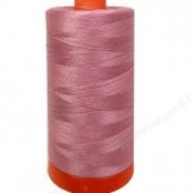 Aurifil Victorian Rose Pink Thread - a2445 -12wt - Quilting Cotton Thread