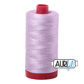 Aurifil Light Lilac Thread 2510 - Purple -12wt - Quilting Cotton Thread