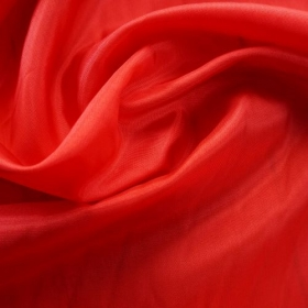 Lining Fabric - Acetate Taffeta in Dragoon Red