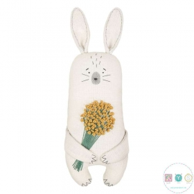 Aroma Bunny Rabbit Kit - Linen Scented Sachet Toy by MiaDolla - Make Your Own - Gift
