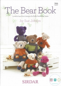 The Bear Book - Knitting Patterns by Sirdar 506 B - Teddybear Knitting Patterns by Sue Jobson