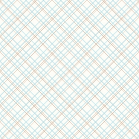 Aqua Plaid - Blue Check 108