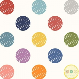 Large Colour Dots - 108