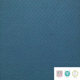 Blue Tiny Dot - Hop, Skip and a Jump by American Jane for Moda Fabrics