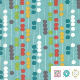 Beads Colourful - Coated Cotton - Laminate Fabric - Mixed Bag Collection by Studio M for Moda Fabric