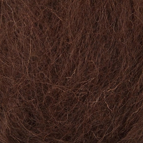 Brown - 50g Felt Wool for Wet and Dry Needle Felting