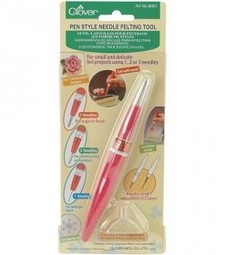 Clover Pen Style Needle Felting Tool - Accessory