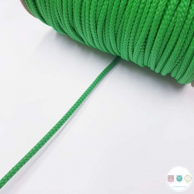 Kelly Green Cord - 3mm approx - Cording - Haberdashery