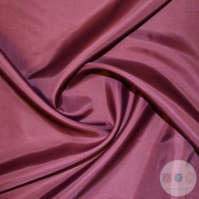 Anti Static Polyester Dress Lining Fabric in Deep Wine - Dressmaking Lining