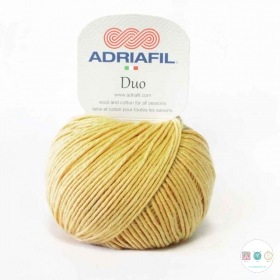 Adriafil Duo Comfort DK Yarn - 50g Balls - Mustard Yellow - Col 91 - Knitting Wool