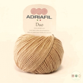 Adriafil Duo Comfort DK Yarn - 50g Balls - Tan - Col 74 - Knitting Wool