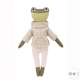 Forrest The Froglet Sewing Kit  - D.I.Y Kit from MiaDolla - Make Your Own Toy - Gift