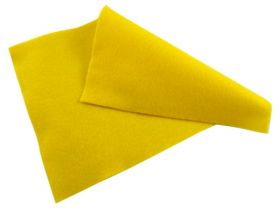 Yellow Felt Sheet  - 12