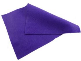 Purple Felt Sheet  - 12