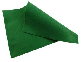 Dark Green Felt Sheet  - 12