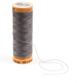 Gutermann Grey Thread G305 - 100% Cotton - 50wt - Sewing Thread - All Purpose - Domestic
