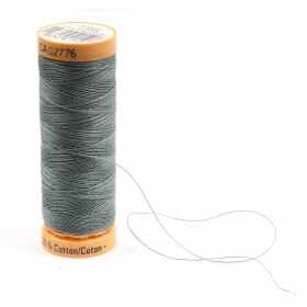 Gutermann Grey Thread G5705 - 100% Cotton - 50wt - Sewing Thread - All Purpose - Domestic