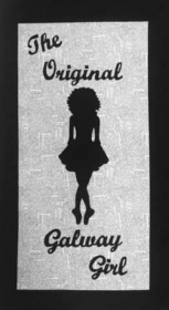 Galway Girl Silhouette - Irish Quilt Kit - Quilting Gift