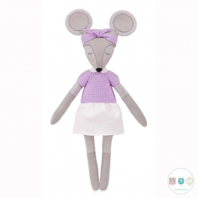 Helga The Mouse Sewing Kit - D.I.Y Kit from MiaDolla - Make Your Own Toy - Gift