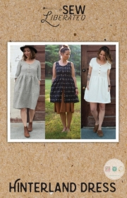 Sew Liberated - Hinterland Dress - US Size 0 - 24 - Ladies Sewing Pattern