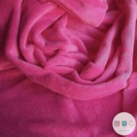 Pink Jersey Fleece  - Extra Cuddle Soft Minky Style - Alpenfleece Fabric