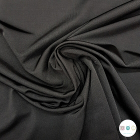 Black Stretch Lining Fabric - Polyester - 150cm - Dressmaking Fabric