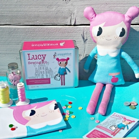 Lucy Doll Sewing Kit
