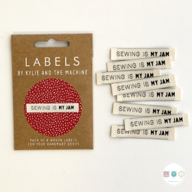 Sewing Is My Jam - Woven Labels -by Kylie and the Machine - Dressmaking - Knit - Crochet