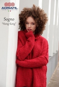 Knitting Pattern for the Oversize Hong Kong Jumper by Adriafil especially for Sogno Yarn