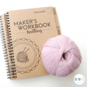 Knitting Makers Workbook - by Pattern Trace - Knitting Planner - Knitters Gift